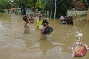 Kota Sampang dilanda banjir