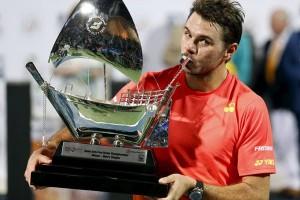 Wawrinka juarai turnamen Dubai