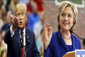 Hillary ungguli Trump enam poin dalam jajak pendapat