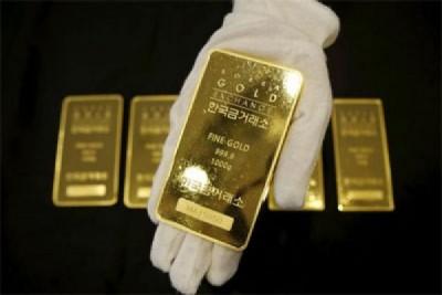 Harga emas turun tertekan data ekonomi AS