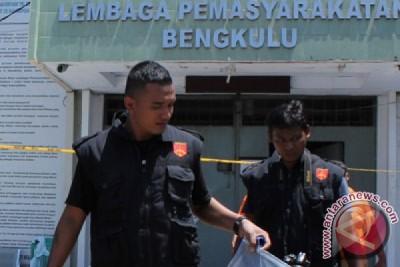 Polisi geledah Lapas Bengkulu