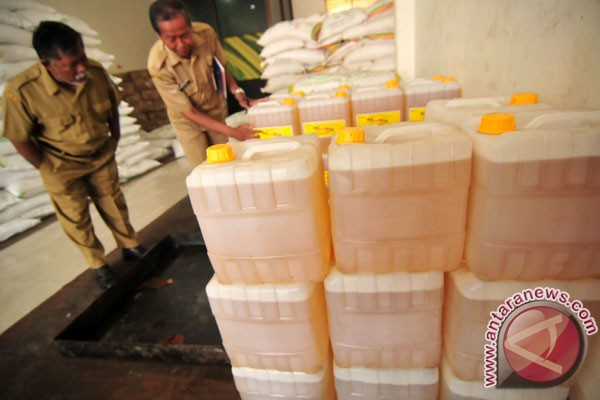 Satgas Pangan amankan 22 ton minyak goreng oplosan