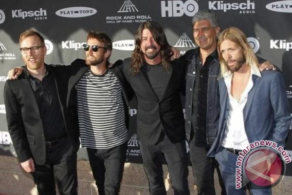 Foo Fighters Tampil Di Acropolis 10 Juli