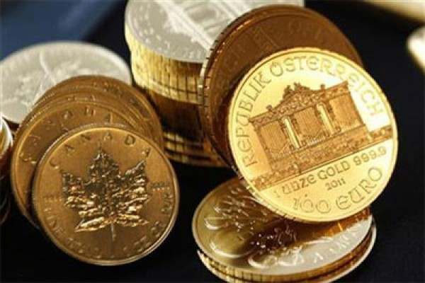 Harga emas menguat