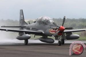 Empat A-29 Super Tucano tiba di Kabul Afghanistan