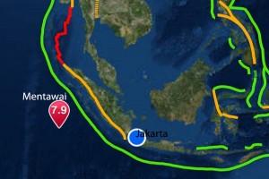Getaran gempa Mentawai cukup keras di Pasaman Barat