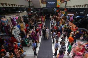 Pengunjung pasar tradisional yogyakarta naik 4,46 persen