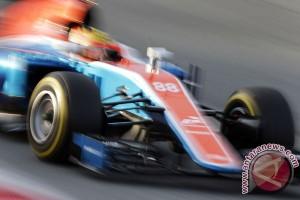 Rosberg tercepat, Rio Haryanto posisi 22 pada latihan bebas ketiga GP Hungaria