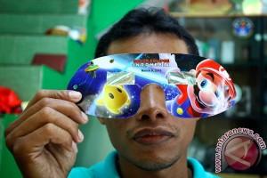 LAPAN di Biak bagikan kacamata khusus GMT