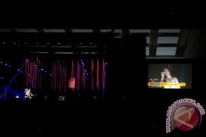 Karaoke soundtrack bersama Raisa-Afgan di Java Jazz