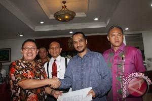 AS-BW sampaikan terima kasih kepada pimpinan KPK