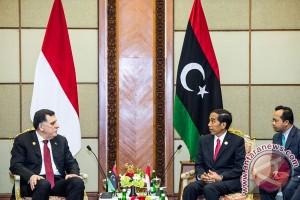 KTT OKI - Jokowi berterima kasih kepada Libya