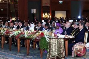 KTT OKI - SBY dan Boediono hadiri jamuan malam OKI