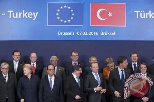 Uni Eropa sambut hangat rencana Turki hentikan arus pengungsi