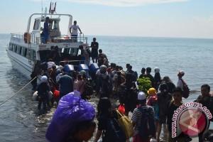 Tabrakan sampan di Nusa Penida, seorang tewas dan enam luka-luka