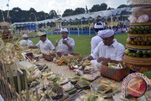Umat Hindu gelar ritual Tawur Kesanga