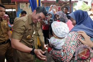 PIN Polio sasar 323.948 balita Jambi