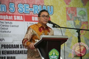 Zulkifli Hasan nilai demokrasi Indonesia condong kebarat-baratan