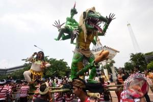 Keharmonisan pawai Ogoh-Ogoh Semarang