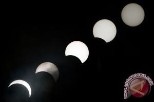 Gerhana Matahari cincin mulai dari Pulau Mentawai