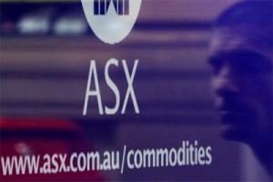 Pasar saham Australia ditutup sedikit menurun