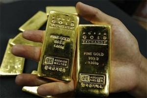 Harga emas naik tipis setelah laporan data ekonomi AS