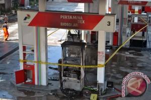 SPBU Yasmin Bogor terbakar
