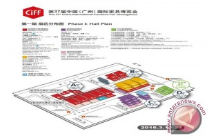 Lebih dari 3.800 eksponen siap ramaikan China International Furniture Fair (Guangzhou) 2016
