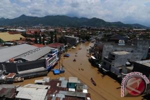 Banjir melanda Ciwidey di Kabupaten Bandung