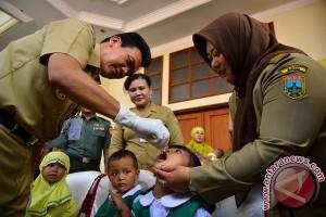 Hari keempat, 51.315 anak di Kudus peroleh imunisasi polio