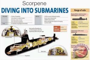 Raksasa bisnis Prancis tawarkan kapal selam ke Australia