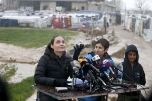 Jolie desak dukungan bagi pengungsi Suriah