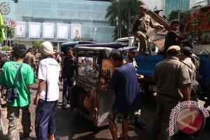 Razia PKL Di Grand Indonesia Jakarta