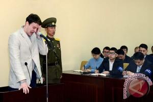 Korea Utara lepaskan warga AS setelah dipenjara 17 bulan