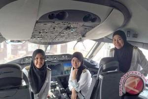 Pesawat Brunei berawak semua wanita mendarat di Arab Saudi