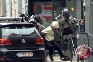 Ledakan terjadi di bandara Brussel, beberapa orang terluka