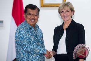Menlu Australia temui Wapres buka Konjen Makassar