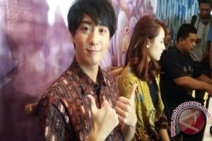 Pemeran Kamen Rider OOO terkesan kehangatan orang Indonesia