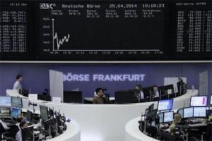 Indeks DAX-30 Jerman ditutup turun 0,48 persen