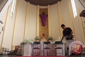 Polresta Bekasi sterilisasi gereja jelang Paskah