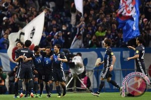 Arab, Jepang, Thailand melaju di kualifikasi Piala Dunia