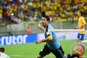 Brasil ditahan Uruguay 2-2 pada Kualifikasi Piala Dunia