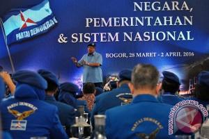 SBY gagas penataran pimpinan kader Partai Demokrat