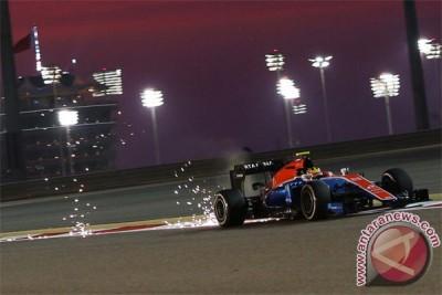 Rio terhenti di GP Rusia karena tertabrak Hulkenberg