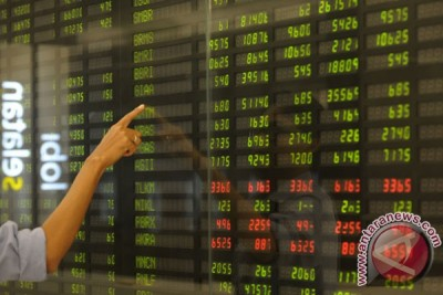 IHSG ditutup menguat 46,11 poin
