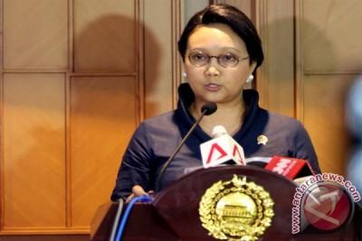 Keterangan Menlu atas 10 WNI sandera yang  tiba di Jakarta