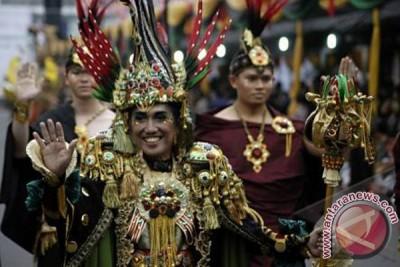 Kostum Karnaval Jember Juara III dunia