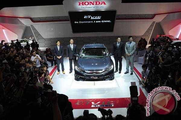 Honda tampilkan 23 mobil di IIMS 2016