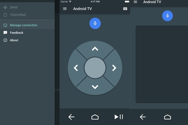Google rilis aplikasi remote Android TV untuk iOS