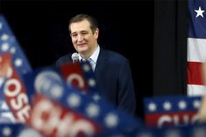 Donald Trump kini ditempel ketat oleh Ted Cruz